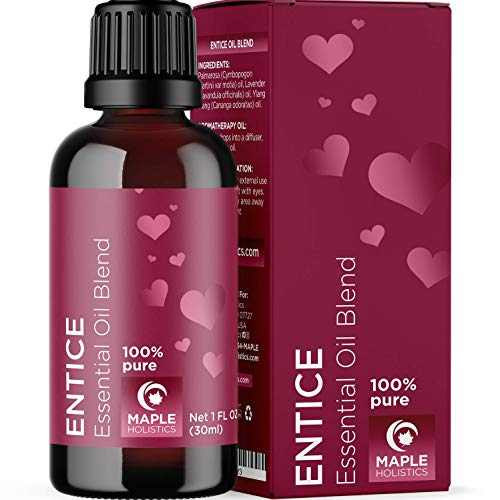 Love Potion Romance Essential Oils - Sensual Essential Oil Blend with Lavender Oil and Ylang Ylang Essential Oil - Romantic Pure Essential Oils Aphrodisiac Sensual Oil Blend Love Oil Couples Gift