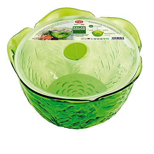 Snips 020420 Salva Insalata-Contenitore salvafreschezza da 4 lt, Verde, UNICA