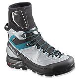 Salomon 2015/16 Women's X Alp Pro W GTX Mountaineering Boot - L37166600 (Black/Light Onix/Boss Blue - 7) Size 7 B(M) US