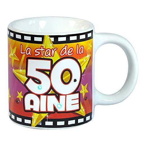 STC Mug Anniversaire 50 Ans Lumineux
