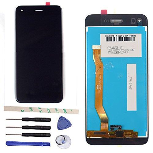 Pantalla LCD Display para Huawei P9 Lite Mini/Enjoy 7/Y6 Pro 2017 SLA-L02 SLA-J22 SLA-TL10 (Pantalla táctil, digitalizador, Cristal, Herramientas) Negro