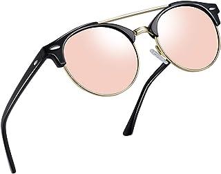 7f9a61a7491d Joopin Vintage Round Sunglasses for Women Retro Brand Polarized Sun Glasses  E3447