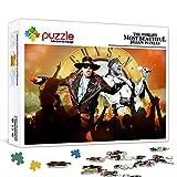 Relax Jigsaw Puzzle Guns N 'Roses Juego De Rompecabezas Para Adultos 300 Piezas 15 X 10 Pulgadas Desafío De Ejercicios Cerebrales Rompecabezas De Madera Juego De Alta Dificultad