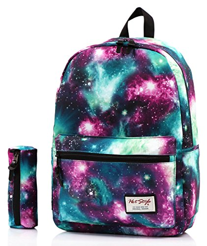 TRENDYMAX Cartable Galaxy Sac a Dos Ecole, 20 Liters,...