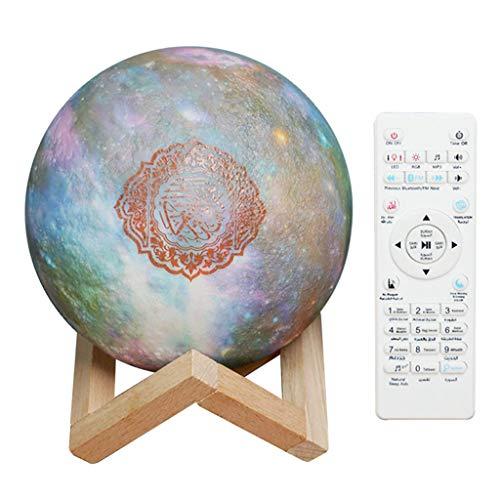 #N/a Altoparlante Wireless per Recitatori Del Corano con Lampada Al Chiaro di 3D
