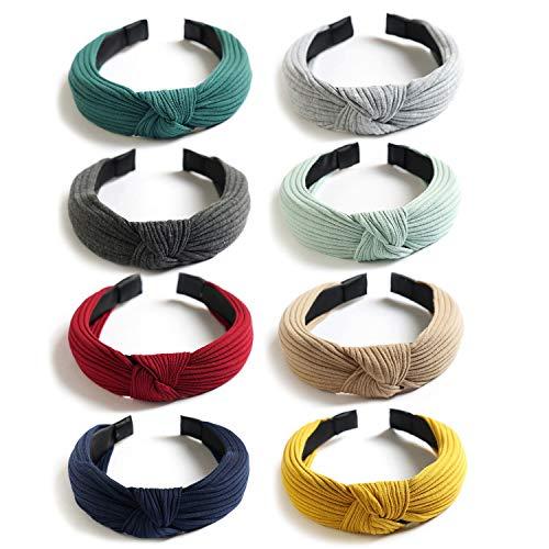 8 Pack Headbands,...