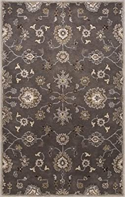 Christopher Knight Home CK-B5334 Bermuda Floral Indoor//Outdoor Area Rug 2ft 5in X 4ft 5in Grey,Blue