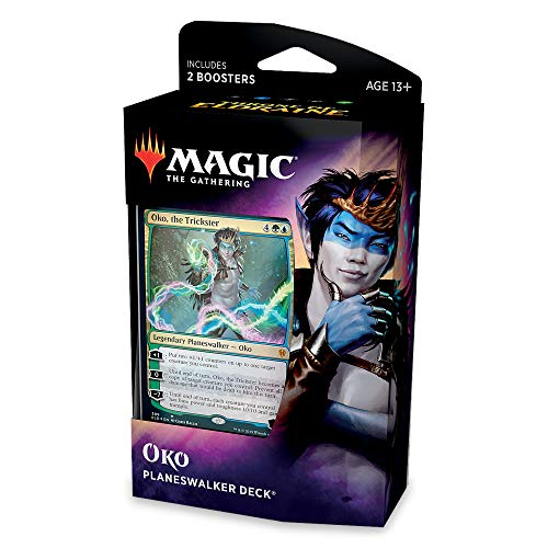 Magic: The Gathering Thron of Eldraine Oko Planeswalker Deck