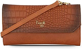 Baggit L Wallet Women's Shoulder Bag (Orange)