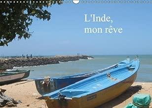 L'Inde, Mon Reve 2018: Voyage En Inde De Kovalam Au Kerala Jusqu'au Cap Comarin Au Tamil Nadu (Calvendo Places) (French Edition)