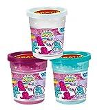 CRAZE 14332Magic Sand Unicorn Refill Can, 450G, Sand con formine, Colori Assortiti