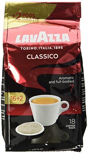 Lavazza Caffè Crema Classico 16 plus 2 Pads ( 125 g)