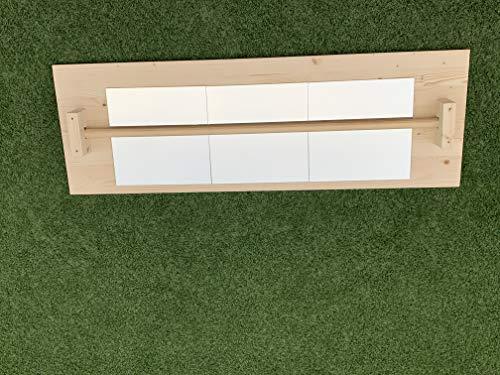 Desconocido Espejo Montessori Madera con Barra