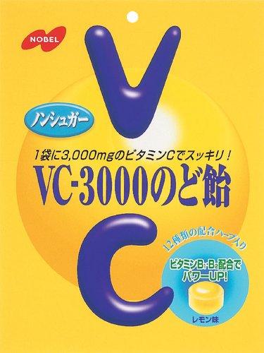 ノーベル製菓『VC-3000のど飴』