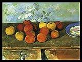 1art1 Paul Cézanne Poster Kunstdruck und MDF-Rahmen