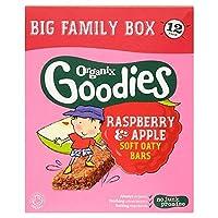 [Organix] Organixグッズのラズベリーとリンゴのバー12X30G - Organix Goodies Raspberry And Apple Bars 12X30g [並行輸入品]