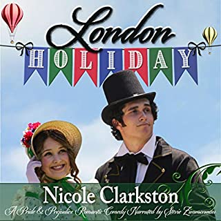 London Holiday: A Pride and Prejudice Romantic Comedy Titelbild