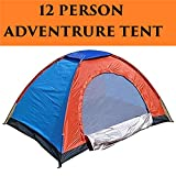 Kriva polyester Waterproof Tent for Tent Outdoor Trekking Camping for 12 Person