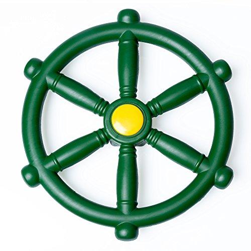 Barcaloo Kids Playground Steering Wheel - Pirate Ship Wheel for Jungle Gym or Swing Set