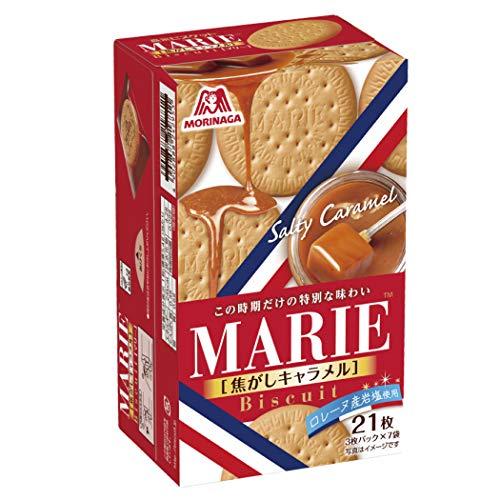 森永製菓 マリー 焦がしキャラメル 5箱