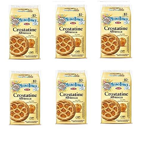 Juego de 60 moldes para tartas de crostatina Albicocca y albaricoque de 40 g