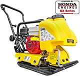 Stark 5.5HP Walk Behind Gas Vibration Construction Plate Compactor Tamper Rammer Water Tank, Powered By GX160 Engine