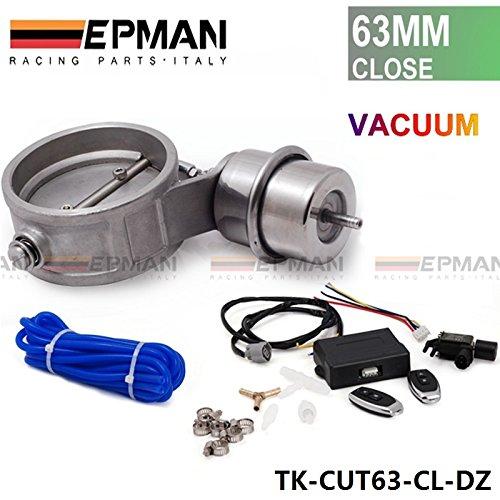 'Escape de Juego de válvula de control con de vacío actuator CutOut 2.563mm Tubo en la N?HE Style con mando a distancia inalámbrico TK de cut63de cl de DZ