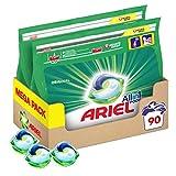 Ariel Allin1 Pods Lessive En Capsules, Parfum Normal avec une Fraîcheur Longue Durée, 90Lavages (Lot de 2x45)