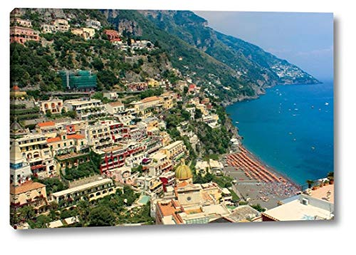 "Positively Positano by Tammy Apple - 16"" x 24"" Canvas Art Print Gallery Wrapped - Ready to Hang"