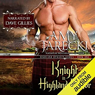 Knight in Highland Armor audiobook cover art