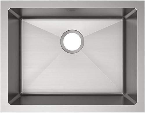discount Elkay popular EFRU2115T Crosstown Single Bowl Undermount high quality Stainless Steel Sink online sale