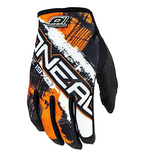 O'Neal Jump MX Handschuhe Shocker Schwarz Orange, 0385JS-8, Größe XL