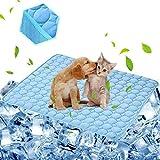 aingycy Kühlmatte für Hunde und Katzen, Kühldecke für den Außenbereich, Autositze und Betten (71 x 102 cm)