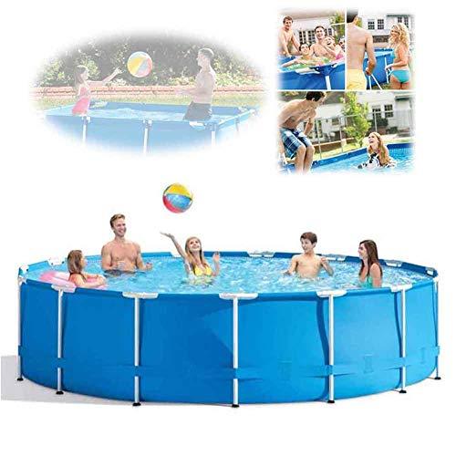 XFY Swimmingpool Familienpool Baby Pool Schwimmingpool Kinderplanschbecken Badespaß für Garten Outdoor Erwachsene Kinder mit 530 Gallonen Filterpumpe