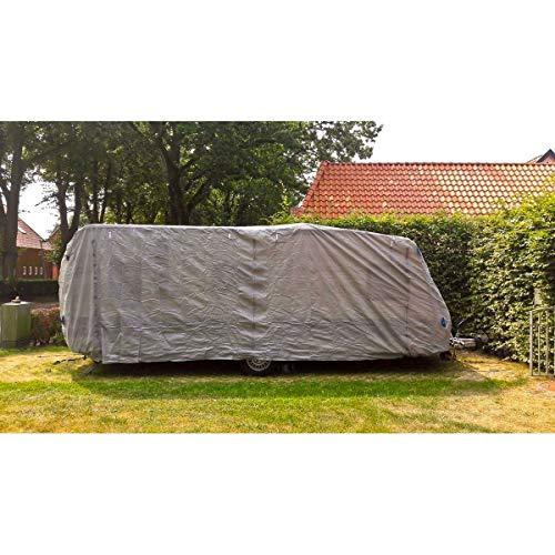 Benelando Abdeckhauben Schutzhülle für Wohnwagen in verschiedenen Größen - Abdeckung Abdeckplane für Caravan Schutzhaube (XXL)