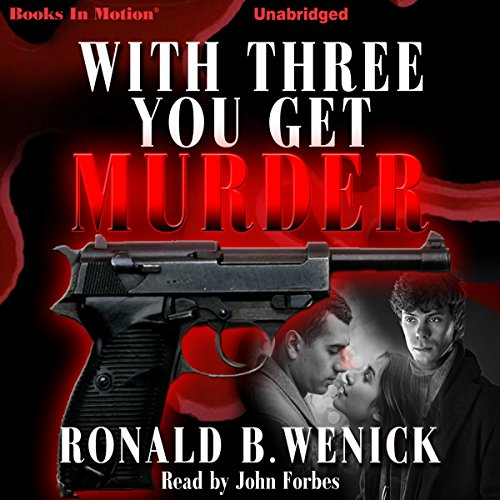 With Three You Get Murder audiobook cover art