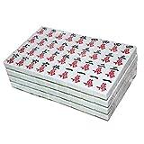 DFJU Jogos Mahjong Chinês Tradicional Mahjong Conjunto Doméstico Grande Verde Mahjong Cartão Festa Lazer Jogo de Tabuleiro Presentes TIK Tok App 144 Folhas Festa Casa Estilo Retro