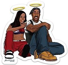 Sponsored Ad - RIP Hip Hop Greats Sticker - 4 Inch WaterProof - Vinyl Stickers, Laptop Decal, Water Bottle Sticker, Car De...