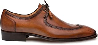 Novo Mens Luxury Dress Shoes - Italian Calfskin with Leather Sole - Handcrafted in Spain - Medium Width