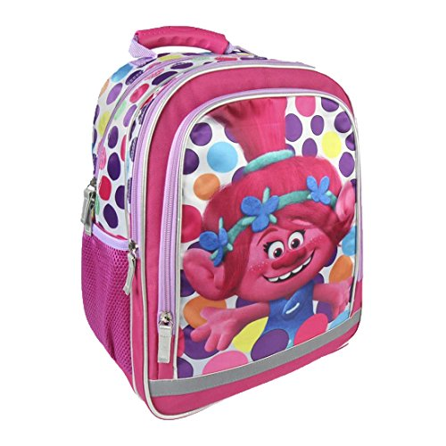 Cerdá Premium Trolls Kinder-Rucksack, 38 cm, Pink (rosa)