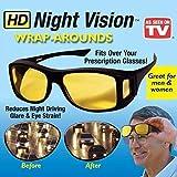 NIRANT Night Vision Goggles for Driving Bike | Bike Glasses for Men |