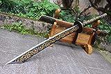 Chinese Sword,Broadsword,Handmade(High Carbon Steel Blade,Alloy Handle) Battle Ready