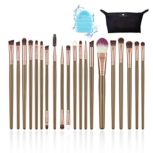set pennelli make up, pennello cipria, pennelli make up occhi, per...