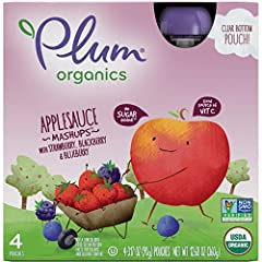 No sugar added Good source of vitamin C Made with Organic fruits and veggies