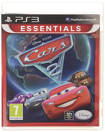 NEW & SEALED! Cars 2 Essential Sony Playstation PS3 Game UK PAL