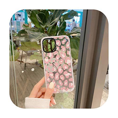 Phone cover Funda de teléfono de leopardo para iPhone 12 Mini 11 Pro Fashion Trend Se 2020 7 8 Plus X Xr Xs suave silicona transparente cubierta accesorios-A para Iphone Se 2020