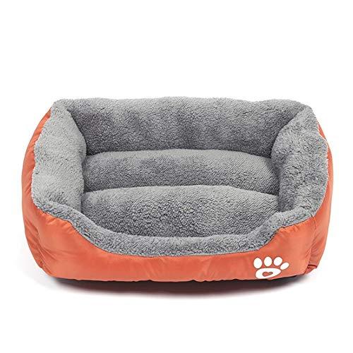XIAOZHENT Cama para Mascotas Huellas de Huellas Pet Pet Pet Pet Kennel Pet Cat Dog Nest Nest...