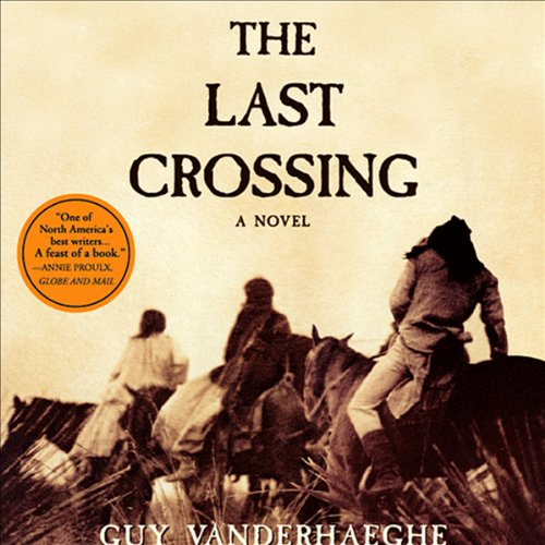 The Last Crossing audiobook cover art