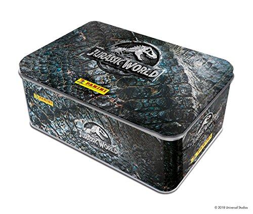 Panini Frankreich SA–Jurassic World Movie 2Packs Metall (15Hüllen), 2410–021, Keine