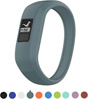 Willibill Garmin Vivofit JR Watchbands for Kids,Soft Silicone Replacement Watch Bands for Garmin Vivofit JR/Vivofit JR 2 / Vivofit 3 (Cyan, Small)